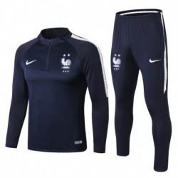 France Blue Training Suit 2018 2 Stars Versio