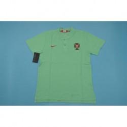 Portugal green polo shir