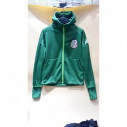 Mexico green hooded jacke