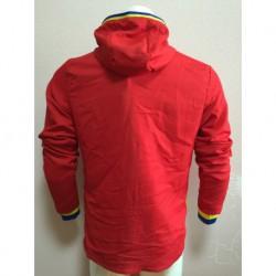 2016 euro cup spain red hoodie jacke