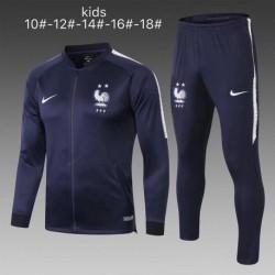 France blue jacket tracksui