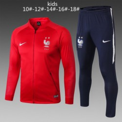 Youth 2 star france red jacket suit 20 size:18-201