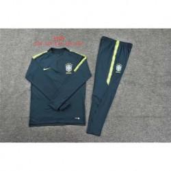 Brazil black kid training suit size:18-1