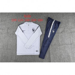 2 star youth france white training suit 201