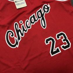 Chicago bulls jordan red champion rookie retr