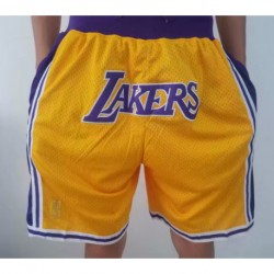 Just don lakers yellow short