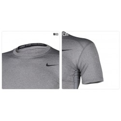 Mens tight-Drying clothes gray 4497 size:92-091 m-2XL 5