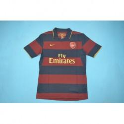 Size:07-08 arsenal away retro jersey