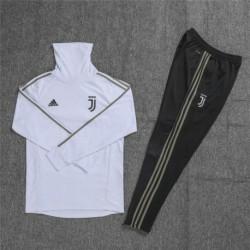 Size:18-19 ucl juventus high collar white sweater training sui