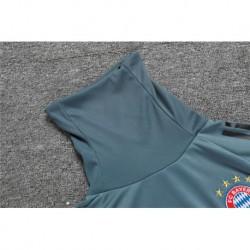 Size:18-19 ucl bayern high collar grey sweater training sui