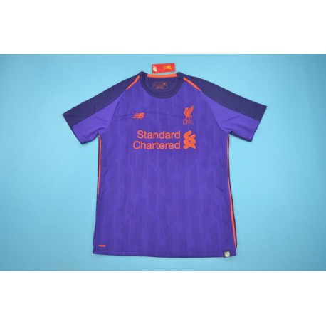 super cute c2a87 1d9a0 Liverpool Purple Kit 2018,Liverpool Jersey Size Guide,liverpool aways  purple jerseys Size:18-19