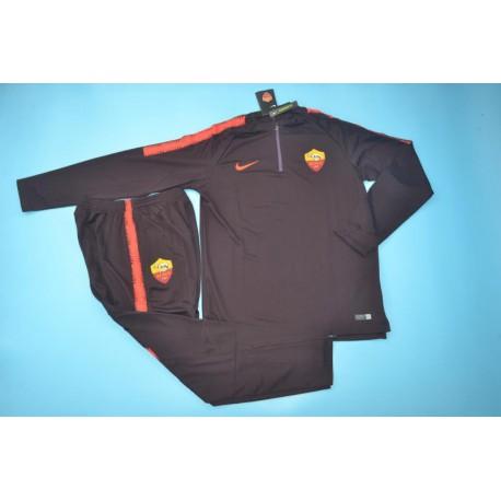 on sale c5c09 b10c4 As Roma Training Kit,As Roma Training Jacket,roma brown training suit