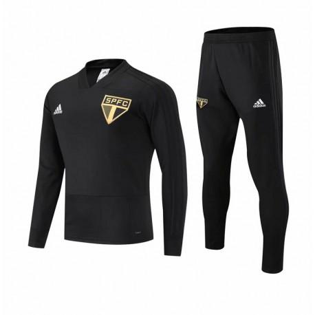 Sao paulo black training suit size:18-1