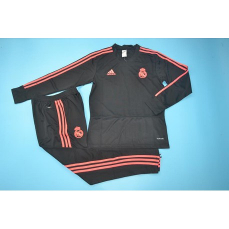 Black V Neck Training Suit 20 Size:18-201