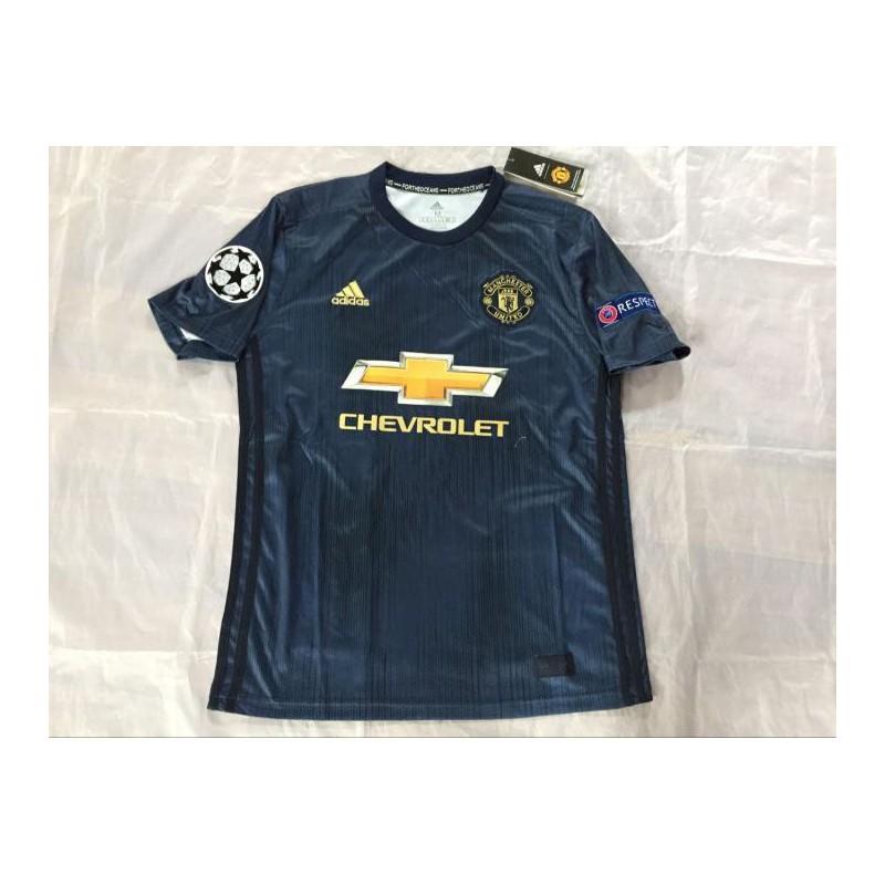 Man United 3rd Kit Man United Blue Kit Man United 3rd Blue Kit Size 18 19