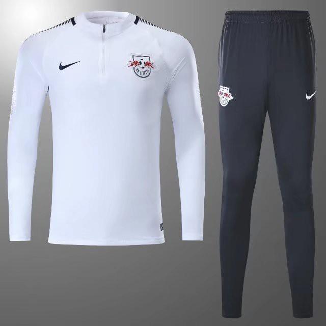 Rb Leipzig Champions League Rb Leipzig T Shirt Semi Zipper Sweater Tracksuit Leipzig White Pre Match Size 17 18 Size S Size X