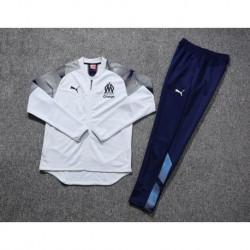 Marseille white jacket tracksui