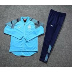 Marseille blue jacket tracksui
