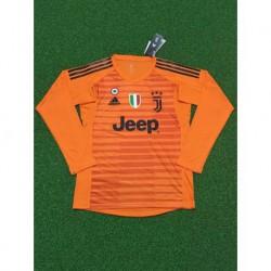 Juventus orange long sleeves gk shirt size:18-1