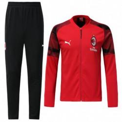AC-Milan red jacket tracksui