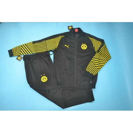 Borussia Dortmund Jacket Puma Borussia Dortmund Puma Jacket Dortmund Black Jacket Tracksuit 20 Size 18 2019